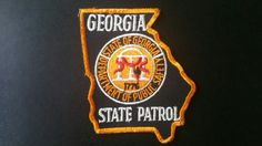 Georgia State Patrol Patch (Current Issue) - States Display