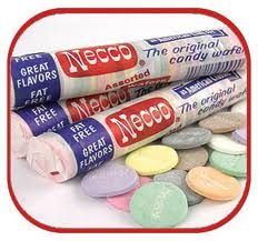 Necco wafers are a very popular candy, however the popularity peaked about fifty years ago. This sweet treat was very cheap and sold in candy shops all around. A small taste can transport an older adult back to a sweeter time. 1970s Candy, Retro Candy, Vintage Candy, Necco Wafers, Candy Wafers, Sweet Memories, Childhood Memories, School Memories, Family Memories