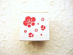 Plum Blossom Stamp Japanese Traditional by FromJapanWithLove, $10.00