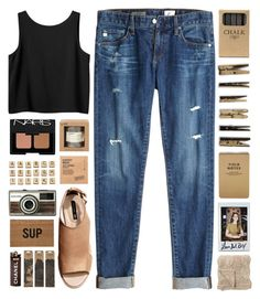 SCRABBLE // top set 28.03 yaayyy by emmas-fashion-diary on Polyvore featuring Monki, AG Adriano Goldschmied, H&M, NARS Cosmetics, Comodynes, Jayson Home, Reed Wilson Design, Bloomingville, Le Labo and Hasbro