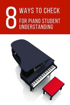 "Do your piano students actually understand... or are they just saying ""yes""? Here's how to check. #PianoTeaching #PianoLessons"