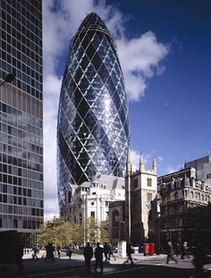30 St Mary Axe, London - Foster and Partners