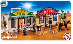 If you haven't explored the world of Playmobil, you need to! Super fun sets with an incredible variety and characters/occupations!