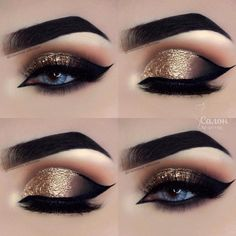 Eye make-up for beginners step by step -. - Eye make-up for beginners step by step – P R O M – # BEGINNER # eye … – Eye Makeup – # be - Makeup Eye Looks, Beautiful Eye Makeup, Makeup For Green Eyes, Eye Makeup Tips, Makeup Hacks, Smokey Eye Makeup, Makeup Inspo, Eyeshadow Makeup, Eyeshadow Palette