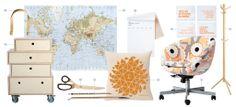 Escritorio. Decora tu zona de trabajo con maderas naturales y colores suaves http://www.muudmag.com/spa/pagina/268-ESCRITORIO