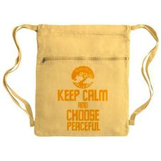Divergent Amity Cinch Sack #Divergent Keep Calm and Choose Peaceful #Amity Faction design. Shirts Hoodies Cases Bags and more #Cafepress See all my designs in my shops.