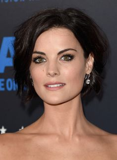 Jaimie Alexander's short wavy cut - Celeb Short Hairstyles That'll Make You Want to Chop Off Your Locks - Photos