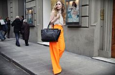neon pants. #neon #fashion