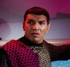 "The Romulan Commander (Mark Lenard) - Star Trek: The Original Series ""Balance of Terror"" (First Broadcast: December Film Star Trek, Star Trek 1966, Star Trek Movies, Star Wars, Aliens, Herbert Lom, Star Trek Convention, Star Trek Episodes, Star Trek Images"