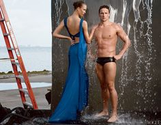 I'm so excited for the Olympics!  These shots were taken by Annie Liebovitz for Vogue.