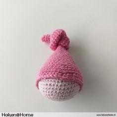 Haakpatroon Lieffies Bijtring/Rammelaar – Haken@Home Needlework, Indie, Crochet Hats, Pure Products, Knitting, Children, Toddlers, Amigurumi, Patterns