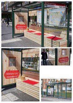 Norway - Street  Ambient Marketing http://arcreactions.com/m-salon-calgary-website-design-company-project/
