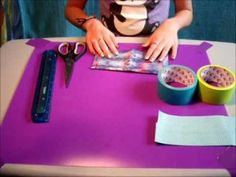DIY Duct Tape Wallet - YouTube