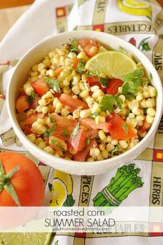 Roasted Corn Summer Salad - your homebased mom