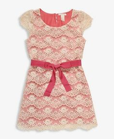 Scalloped Lace Dress | FOREVER21 girls - 2000048343