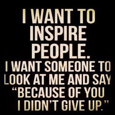 I am very appreciative of those who have made a difference in my life, I just hope I do the same for others!