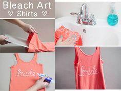 Bleach #art shirts #DIY