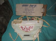 Vintage  1950s  Johnny JUMP  UP baby by Linsvintageboutique