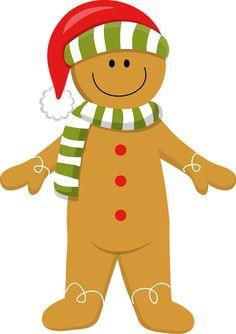 CHRISTMAS GINGERBREAD MAN *