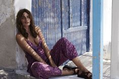 Australian clothing brand, Tigerlily, Model Alyssa Miller poses for Nicole Bentley.