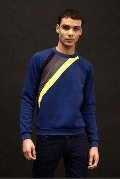 Crewneck sweatshirt by Alexander Campaz Clothes Pant Shirt, Crew Neck Sweatshirt, Stylish Mens Outfits, Stylish Man, Mens Clothing Styles, Men's Clothing, Men Design, Mens Fashion, Fashion Edgy