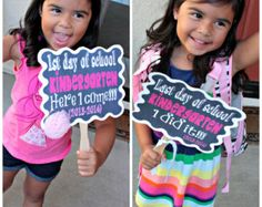 """last day of school signs - Could make """"1st Day"""" sign and photograph each kiddo"""