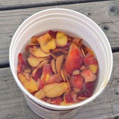 Home-Fermented Peach Vinegar - Real Food - MOTHER EARTH NEWS
