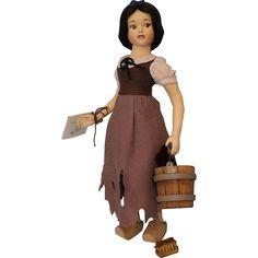 "16"" R. John Wright Walt Disney Snow White in Rags Doll Ltd Ed Box Tag from turnofthecenturyantiques on Ruby Lane"