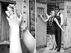Gangster Wedding Photo Shoot   Dallas Wedding Photographer Katie Cassidy   Photojournalistic Wedding Photography