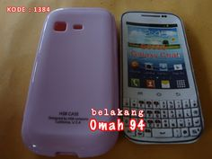 Silicone Soft Case Samsung Galaxy Chat B5330 Ungu (Purple) | Toko Online Rame | KODE BARANG : 1384