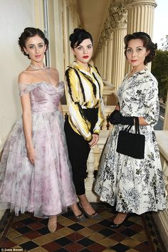 Sumptuous setting: The costume showcase was held at the Institute of Contemporary Arts, close to London's Buckingham Palace on The Mall