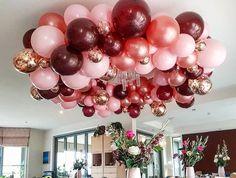 33rd Birthday, 50th Birthday Party, Mom Birthday, Birthday Party Decorations, Birthday Celebration, Quince Decorations, Balloon Decorations, Baby Shower Decorations, Balloon Chandelier