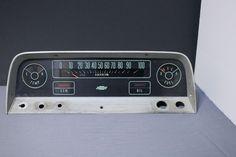 Original Chevy Chevrolet C10 Truck Dash Instrument Panel Cluster Speedometer #Chevrolet