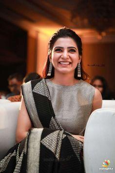 Samantha At Seema Raja Movie Trailer Launch Samantha In Saree, Samantha Ruth, South Indian Actress, Beautiful Indian Actress, South Actress, Samantha Images, Babe, Saree Look, Indian Designer Outfits