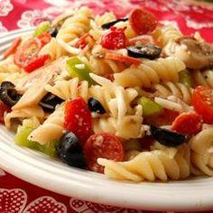 italian pizza pasta salad...