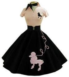 The skirt was designed in 1947 by a young actress named Juli Lynne Charlot.