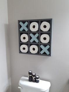 Toilet Paper Tic Tac Toe