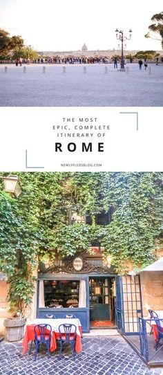 Six insights from a Rome veteran on how to get the most out of every day in Rome- plus more detailed posts on Rome's biggest highlights!