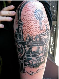 1000 images about train tattoo on pinterest train for Tattoo shops tyler tx