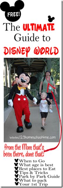 The Ultimate Guide to Disney World from a mom that's been there done that
