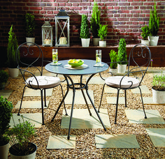 decorative toadstool bistro set bistro patio sets pinterest