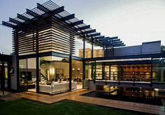 Home design exterior simple awesome black glass wood simple design modern exterior house tropical wall lamp . home design exterior simple Villa Design, Design Exterior, Modern Exterior, Colonial Exterior, Home Modern, Modern House Design, Modern Homes, Modern Luxury, Architecture Design