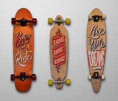 Skateboard Lettering by Panco Sassano