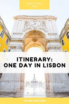 One Day in Lisbon Itinerary! Are you visiting Lisbon but have limited time to do so? Check out our post on what to see and do when travelling to Lisbon for one day! 1 Day in Lisbon Portugal Travel Guide, Europe Travel Guide, Europe Destinations, Spain Travel, Travel Guides, Asia Travel, Visit Portugal, Spain And Portugal, Algarve