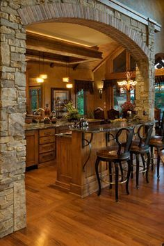 The Prairie Stone   B.L. Rieke Custom Home Builders