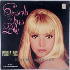 Priscilla Paris - Priscilla Sings Billy (Happy Tiger; 1969) Priscilla Paris was a member of the Paris Sisters and later went solo.  This 1969 LP contains songs made famous by Billie Holiday.  The copy shown is still sealed. #records #vinyl #albums #LP  Click here to learn more about this record: http://www.rarerecords.net/store/priscilla-paris-priscilla-loves-billy-sealed-1969-lp/