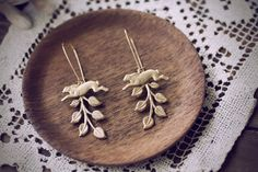 Mountain Hare Chase Jackrabbit Earrings by ChristineDomanic, $24.00