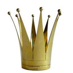 Rare Swedish Sterling Vermeil Wedding Crown