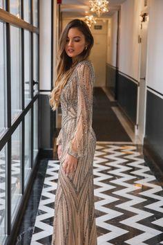 Katerina Berezhna wearing the Atos Style 47 from #PartyEdit2020 #Pronovias #PronoviasRedCarpet