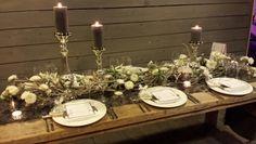 http://www.FLORICA.eu - winterliche Tischdekoration, Blumendekorationen für Hochzeiten und Events